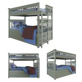 Детская Двухъярусная кровать. Baby bed.