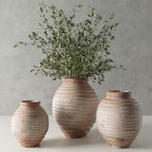 RH 19 th c. terra-cotta olive jar