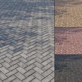 Бетонная тротуарная плитка Тип 6