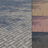 Бетонная тротуарная плитка Тип 7