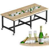 Catering table - Brussels Oldwood