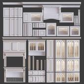 Классические кухонные фасады