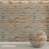 Brick wall. Old brick. 82