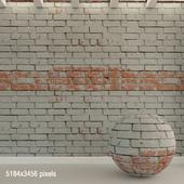 Brick wall. Old brick. 83
