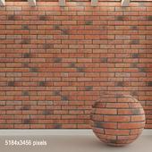 Brick wall. Old brick. 85