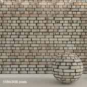 Brick wall. Old brick. 87