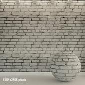 Brick wall. Old brick. 89