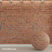 Brick wall. Old brick. 91