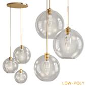 Set of 3 LukLoy Loft Modern Pendant Light