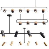 Obie Diner & Ling PL6 Linear Suspension Light