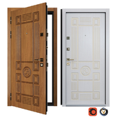 Bezha Entrance Metal Door 5 (Your Frame)
