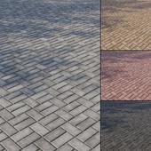 Бетонная тротуарная плитка Тип 8