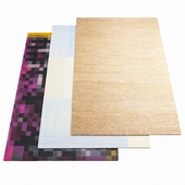 Three carpets NANIMARQUINA - 08
