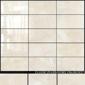 Yurtbay Seramik Classic Pulpis Ivory 150x300 Set 3