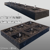 Cubic fountains