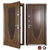 Vezha Entrance Metal Door 9 (Your Frame)