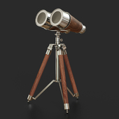 Old Modern Handicrafts Decorative Binocular