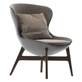 Round Armchair by Ditre Italia