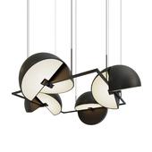 Подвесной светильник Trapeze Quartette by oblure