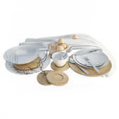 Graphic Tableware and cutlery
