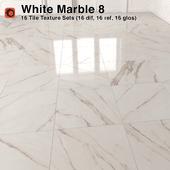 White Marble Tiles - 8
