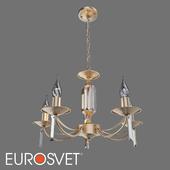 OM Crystal pendant chandelier Eurosvet 60087/5 Volare