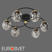 OM Ceiling chandelier in the loft style Eurosvet 70104/6 Link