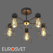 OM Ceiling chandelier in the loft style Eurosvet 70107/5 Trappola