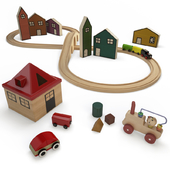 Wooden Trains Toys
