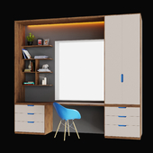 Closet-table