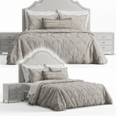 Basset Barcelona Bonnet Headboard Bed