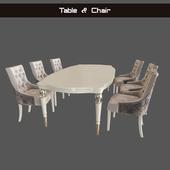 Table chair Verona