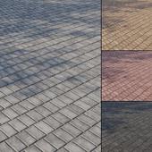 Бетонная тротуарная плитка Тип 10