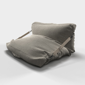 Adjustable Grey Bean Bag Chair