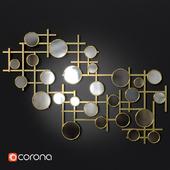 Elegant Mirror Cluster Wall Decor
