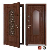 Входная металлическая дверь Вежа 11 (Ваша Рамка)