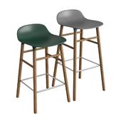 Form Wooden Barstool