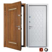 Входная металлическая дверь Вежа 12 (Ваша Рамка)