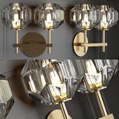 RH Boule de Cristal Double Sconce