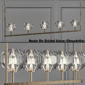 RH Boule De Cristal Linear Chandelier 5