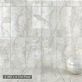 Wall Tiles 411 Silver River Light Set 1