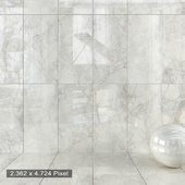 Wall Tiles 412 Silver River Light Set 2