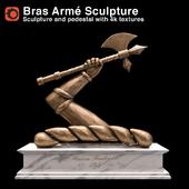 Hennessy Bras Armé Sculpture