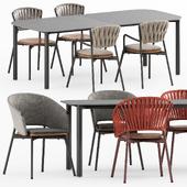 PIPER 030 table, PIPER 120, 221, 022, 122 by Roda