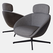Russell armchair swivel