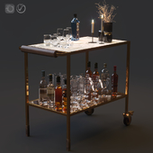 Bar cart set 01