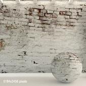 Brick wall. Old brick. 92