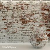 Brick wall. Old brick. 94