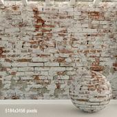 Brick wall. Old brick. 95