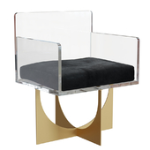 Chair SAFAVIEH Jeneva Acrylic Arm Chair